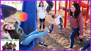 Download Playground Wars BALL TAG / That YouTub3 Family Video
