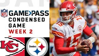 Download Chiefs vs. Steelers | Week 2 NFL Game Pass Condensed Game of the Week Video