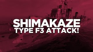 Download World of Warships - Shimakaze Type F3 Attack! Video