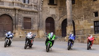 Download 2016 Kawasaki ZX-10R takes on superbike rivals| Group Tests | Motorcyclenews Video