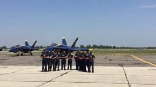 Download Blue Angels Pre-Flight Ceremony Video
