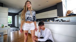 Download I GOT A TATTOO OF MY BOYFRIEND PRANK! Video