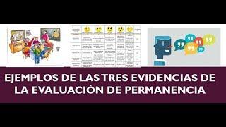 Download Soy Docente: EJEMPLO DE LAS TRES EVIDENCIAS Video