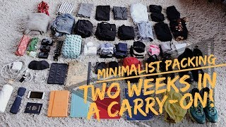 Download Two Weeks in a Carry-On | Pack Like a Minimalist Video
