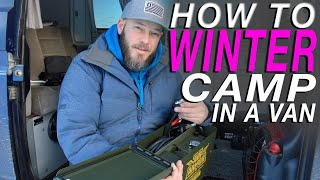Download Living The Van Life - Cold Weather Survival: The Ultimate Guide Video