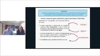 Download Ejemplos de mecanismos de cooperacion para la gestión de acuíferos transfronterizos –1/4 Video