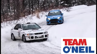 Download 2016 Ford Focus RS vs Subaru STI Powered Rally Car Video