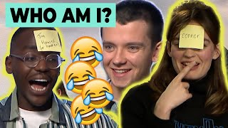 Download Sex Education cast play 'WHO AM I?' | Ncuti Gatwa, Asa Butterfield & Emma Mackey Video