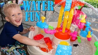 Download Little Tikes Fountain Factory Water Table Playtime Video