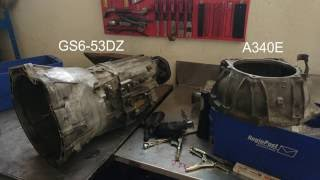 Download BMW gearbox goes 1JZ / 2JZ Video