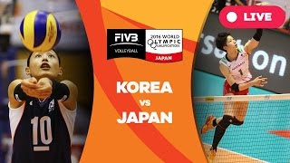 Download Korea v Japan - 2016 Women's World Olympic Qualification Tournament Video