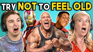 Download ADULTS REACT TO TRY NOT TO FEEL OLD CHALLENGE #4 Video
