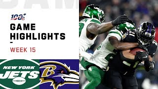 Download Jets vs. Ravens Week 15 Highlights | NFL 2019 Video