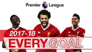 Download Salah, Mane & Firmino | Every Premier League Goal 2017-18 Video