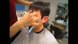 Download HAIRCUT & WAX HAIR-STYLING FOR A GUY (SWITCHSCISSORS) Video