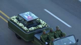 Download Fidel Castro's ashes leave Havana Video