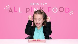 Download Kids Try All Pink Food   Kids Try   HiHo Kids Video