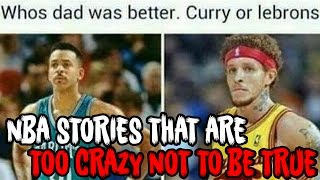 Download 4 NBA Stories That Are TOO CRAZY Not To Be TRUE! Video