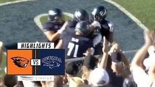 Download Oregon State vs Nevada Football Highlights (2018) | Stadium Video