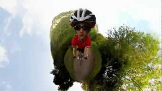 Download Little Planet Cycling - 360 Video Video