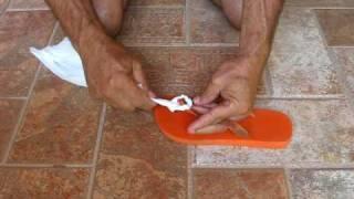 Download SANDALIAS HAVAIANAS, FLIP FLOPS How to fix it, como consertar sandalias havaianas Video