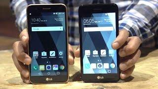 Download LG K10, K8, K4 y K3: celulares con mucho estilo y una batería removible Video