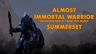 Download ESO - Almost Immortal Warrior - PVE Dragonknight Tank Build - (Summerset) Video