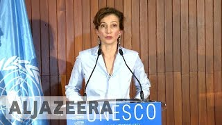 Download Audrey Azoulay wins vote to be next UNESCO chief Video