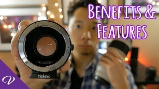 Download Metabones Speed Booster XL 0.64x for Canon EF lenses Overview Video
