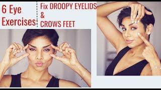 Download 6 Eye Exercises: Tighten Droopy Eyelids and Reduce Wrinkles Around Eyes/ Blushwithme-Parmita Video