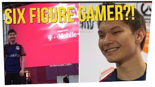 Download High School Dropout Becomes Highest Paid Gamer ft. Steebee Weebee, Gina Darling, DavidSoComedy Video