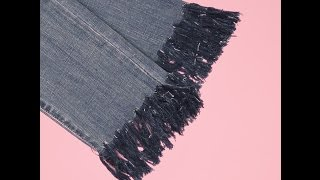Download How To DIY Fringed Jeans Video