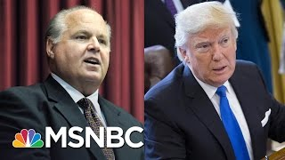 Download Rush Limbaugh Slams Donald Trump For 'Caving' On Border Wall | The Last Word | MSNBC Video