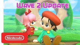 Download Kirby Star Allies: Wave 2 Update - Adeleine & Ribbon - Nintendo Switch Video