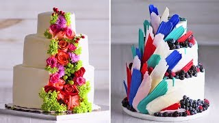 Download A wedding Cake that's fit for a PRINCESS | Cake Hacks | Homemade Royal Wedding Cake Ideas | So Yummy Video