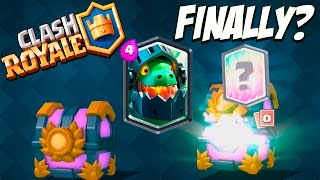 Download LEGENDARY CARD FROM GRAND CHEST :: Clash Royale :: PLEASE INFERNO DRAGON! Video
