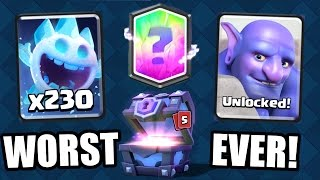 Download Clash Royale | WORST CHEST OPENING EVER!?! NEW UPDATE CARDS UNLOCKED JULY 2016! Video