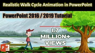 Download Easy Method of Creating Animation Scene in PowerPoint 2016 Tutorial | The Teacher Video