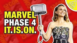Download Kevin Feige Reveals Marvel's Phase 4… And. IT. IS. ON! (Nerdist News w/ Amy Vorpahl) Video