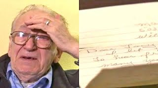 Download After His Wife Of 50 Years Died, This Man Discovered A Letter She'd Kept Hidden The Whole Time Video