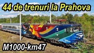 Download 44 de trenuri la Prahova-Trainspotting in Wallachia-Bahnverkehr im Walachei Video
