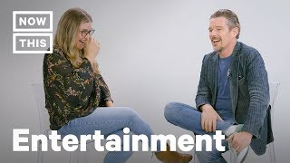 Download Ethan Hawke Full Interview on Blaze Foley, Robin Williams, & The Movies | NowThis Video