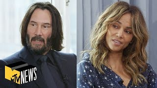 Download Keanu Reeves & Halle Berry on Making 'John Wick: Chapter 3 - Parabellum' | MTV News Video