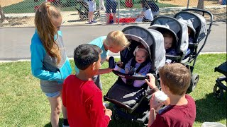 Download Taking 5 Babies to Landon's School - Shayden's Surprise - Helping With Honey Do's Video