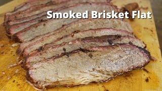 Download Smoked Brisket Flat | How To Smoke A Beef Brisket Flat on the Big Green Egg Video