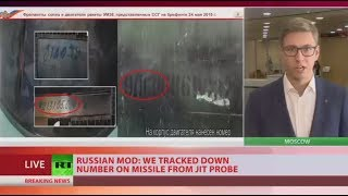 Download Serial numbers of missile that downed MH17 show it was owned by Ukraine - MoD Video
