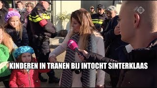Download Anti-Pieten laten kinderen huilen bij Sinterklaasintocht Zaandam Video