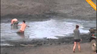 Download Safari Live - Djuma waterhole vs the Drone 8/29/2015 Video