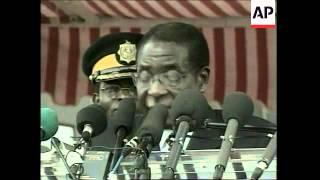 Download Mugabe says loyal whites can keep some land in Zimbabwe Video