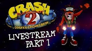 Download Toridori - Crash Bandicoot 2: Cortex Strikes Back (1997) Livestream - Part 1 Video